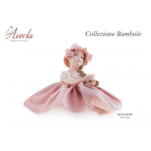 Bambola in ceramica di Capodimonte